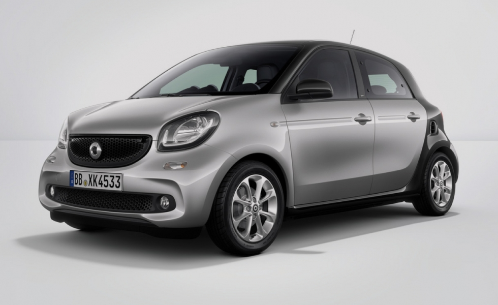 SMART FORFOUR 70 1.0 52kW passion twinamic Hatchback 5-door