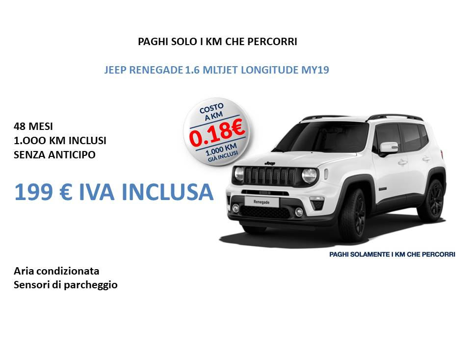 Jeep Renegade1.6 MLTJET LONGITUDE