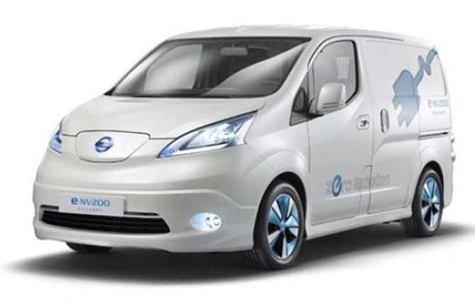 NISSAN E-NV200 Van Business 5 porte Furgone