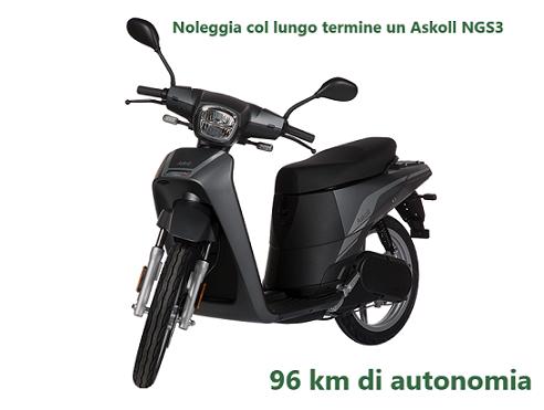 Noleggia col lungo termine un Askoll NGS3. Cuore elettrico !